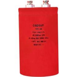 450V3300UF de alta temperatura y condensadores electrolíticos de aluminio de alta potencia de condensadores electrolíticos de inversor
