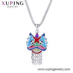 トルコの宝石類青いカラーイタリアデザイン水晶のネックレスの宝石類