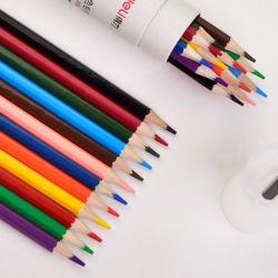 Crayons de couleur professionnelle 48 couleurs Crayon Aquarelle soluble dans l'eau Oli défini