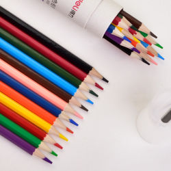 Professional Lápices de Colores 48 colores Oli Soluble en agua con lápiz Acuarela Set