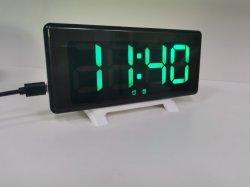 Patent Design Wholesale électronique LED réveil de bureau avec Snooze Et alarmes doubles