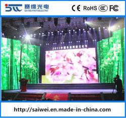 Binnen P3.91 die het LEIDENE Scherm van de Vertoning voor RGB Muur van de van het Achtergrond stadium Raad van het Teken van de Modules van het Comité HD van het Aanplakbord van de Kleur van de Huur Video Volledige adverteren