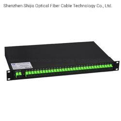 Splitter PLC per modulo per montaggio in rack per FTTH FTTX CATV