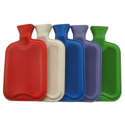 2L Botella de agua caliente de goma / Bolsa de compresa caliente caliente