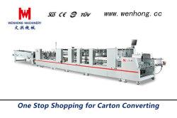 Wenhong haute vitesse automatique Machine d'encollage de pliage (1100W)