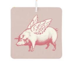 Personnaliser l'Ange Rose cochon Désodorisant de voiture avec le nouveau parfum de voiture (AF004)