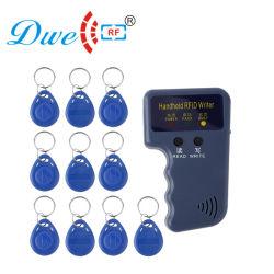 بطاقة هوية RF Copy Machine 125kHz RFID Clone ناسخ مكرر مزود بـ 10 حافظات مفاتيح مجانية