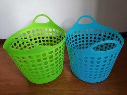 Muffa rotonda di plastica leggera usata del cestino della maniglia dell'usato della muffa del cestino