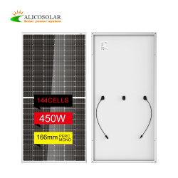 Alta eficiencia de 717 Panel Solar monocristalino de super potencia 395W de la mitad cortar modelo PV
