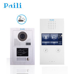Toque 4.3inch interfono con vídeo inteligente/ Video Doorphone para la seguridad del hogar