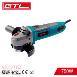 Herramientas eléctricas de alta calidad herramientas bricolaje 750W 115mm amoladora angular Mini Eléctrico