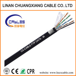 Al aire libre del cable de datos FTP/SFTP Cat5e de la red de seguridad informática HDMI Cable