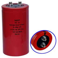 500V4700ufhigh密度エネルギー速い満たし、排出のコンデンサーの変化コンデンサーのEacoのコンデンサーの村田コンデンサーによって分極されるコンデンサーのコンデンサースイッチ