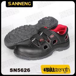 S1P de la Chine usine de chaussures de sécurité de base noir style supérieure en cuir lisse de loisirs de l'été des hommes chaussures de travail/Boot femmes Semelle PU de chaussures bon prix de haute qualité Sn5626