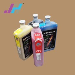 Exzellenter Druck Galaxy Dx5 Eco Solvent Ink für Flex Printing Eco Solvent Printer