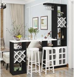Высокое качество деревянных функциональных Домашняя мебель винный бар корпус дисплея