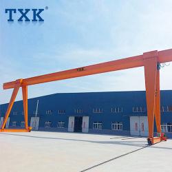 Txk 5tonnes tonnes tonnes 10exécutant électrique extérieur 15A-Frame de grue à portique mobile