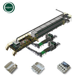Hghy macchina automatica in linea per cartoni di uovo