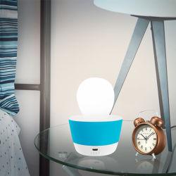 USB 밤 빛 창조적인 소형 꿈 기숙사 센서 C 단면도를 비용을 부과하는 에너지 절약 플러그 접속식 침대 곁 램프 침대 곁 램프는 연결한다