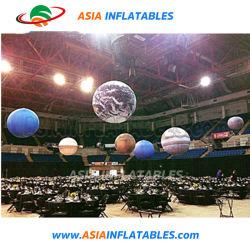 Nove insufláveis Planeta balão, Planeta inflável para decoração / TRAVANDO / Floating