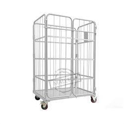 Wire Mesh pliable en acier métallique de l'entrepôt de stockage de bobines de la cage de conteneur