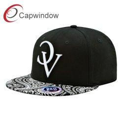 Capwindow Novo Hip Hop Promocionais Snapback preta PAC com bordados