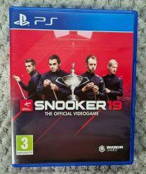 Snooker 19 CD di gioco per i dischi di videogiochi Per il gioco DVD del controller PS