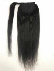 Capelli diritti del brasiliano del Virgin dei capelli di Humain del Ponytail di Yaki