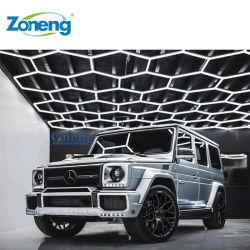 ZT/C202، فلوريكس عالي الجودة ومصباح LED سداسي الشكل مخصص لورشة عمل السيارات
