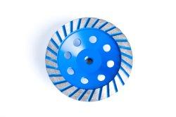 고효율 메탈 본드 다이아몬드 그라인딩 컵 휠(판매용