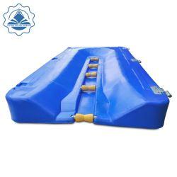 Jet Ski usa dique flotante de elevación