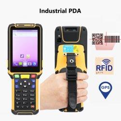 Android Market Scanner de código de barras PDA Handheld Leitor RFID piscina OTG 4G Smart Phone para a logística DHL Industriais