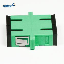 Une bonne répétabilité technique exquis de l'adaptateur LC avec obturateur pour instrument à fibre optique