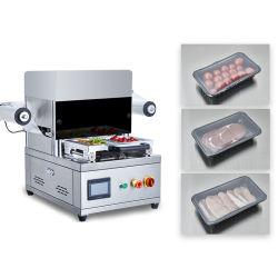 ماكينة منع تسرب درج الخرائط شبه الأوتوماتيكية لطاولة CE 2 صينية تعبئة الطعام