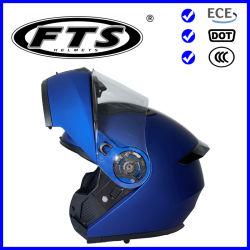 オートバイのアクセサリの安全保護装置のABS太字の開いたジェット機半分F158Aの点及びECEの上のモジュラーヘルメットフリップは承認した