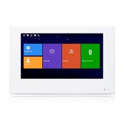 7 インチタッチスクリーン IP ビデオドア電話モニタ