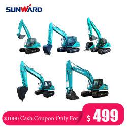 Sunward 0.8 Ton-100 Ton ミニ小型掘削機、油圧ホイール油圧ショベル、採掘クローラー掘削機、中国向け新型掘削機(部品販売用)