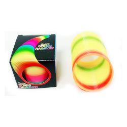 Lente 6cm van de Regenboog van het Speelgoed Educatinal van de fabriek de In het groot Magische Plastic Stuk speelgoed voor Beschikbare OEM van de Bevordering