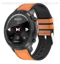 Nuovo sport astuto reale della vigilanza di pressione sanguigna di chiamata di T30 Smartwatch Reloj Inteligentes PPG+ECG SpO2 Bluetooth per il telefono mobile Samsung degli uomini delle donne