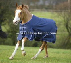 Produto de cavalo Azul de Inverno Ripstop afluência Manta Cavalo (ARM5572)