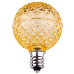 Lampadina sfaccettata G40 più bassa di potere E17 LED - bianco caldo di Sun