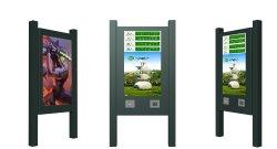 Outdoor Affichage LCD avec 3000nits panneau étanche de la publicité de signalisation numérique