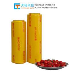 Film de qualité alimentaire l'usine de vendre le film plastique thermorétractable étanche Film film Frais d'emballage alimentaire de film transparent en PVC