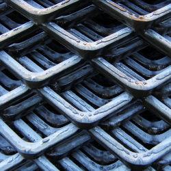 Filo zincato a caldo con rete espansa in alluminio