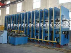 Gummiband Vulkanisierpresse, Hydraulikpresse, Gummiblattenmachmaschine, Gummivulkanisierpresse