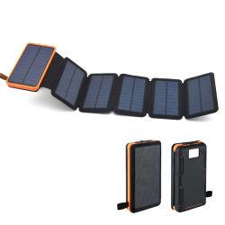 新しい方法Foldable防水太陽エネルギーバンク20000mAh携帯用太陽Smartphoneの充電器屋外力バンクの可動装置力