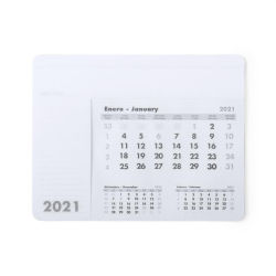 Impressão personalizada de PVC de publicidade escrita PP Support Desk 2021 Calendário intercambiáveis Office tapete para rato