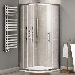 Banheiro moderno Vidro Temperado simples porta corrediça com Duche