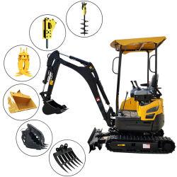 Escavatori anfibi scavatori del nuovo del cingolo del Ce del macchinario edile i mini mini degli escavatori escavatore idraulico della rotella con l'escavatore parte la fabbrica da vendere