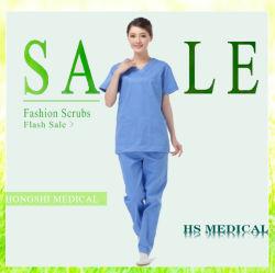 Venta al por Mayor de Matorrales para Traje de Matorrales Moda Médica Mujeres Enfermeras Doctores Trajes de Matorrales Uniformes de Hospital